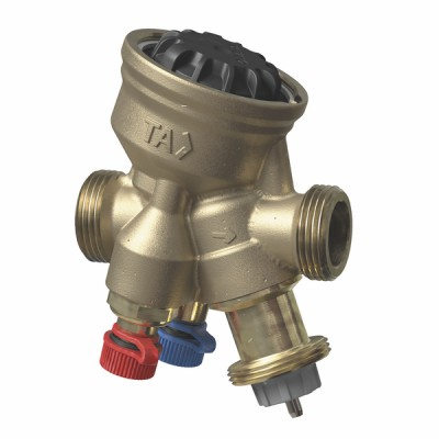 "Vanne d'équilibrage TA-COMPACT NF M1/2"" - IMI HYDRONIC : 52164-010"