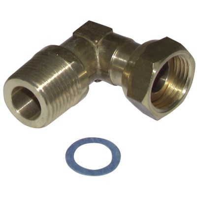 """Raccord coude à 90° M1/2""""FT1/2"""" - DIFF"""