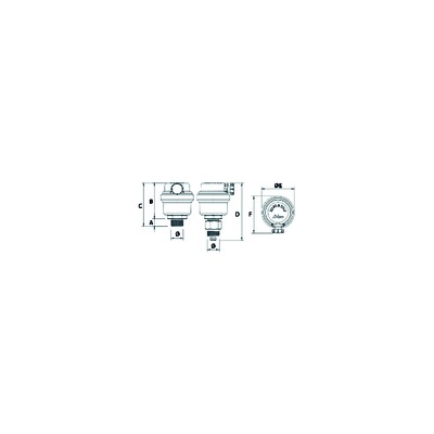 Anode - BOSCH THERMOTECH : 87168413690