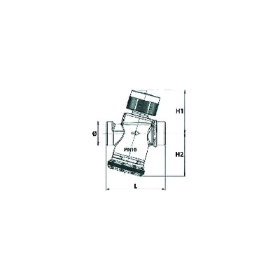 Thermostat froid 4 contacts 1 sonde fournie encastrable - JOHNSON CONTROLS : MR54PM230-1CA