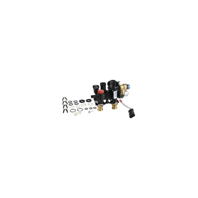 Corps thermostatique standard calypso exact droit dn10 3/8 - IMI HYDRONIC : 3452-01.000