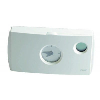 Thermostat ambiance programmable 230V - HAGER : 56512