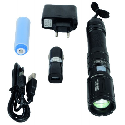Lampe torche LED rechargeable