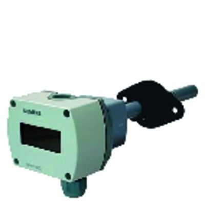 Sonde qualité air gaine CO2 COV LCD 0...10Vcc 0...5Vcc 0...100% 0...2000ppm - SIEMENS : QPM2102D