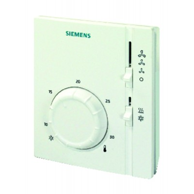 Thermostat ambiance VC 2T chaud froid - SIEMENS : RAB11