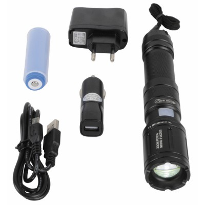 Lampe torche LED rechargeable - DIFF