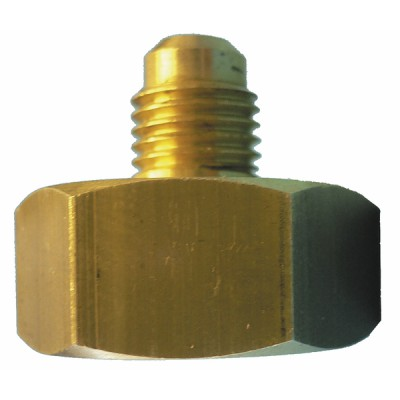 """Raccord bouteille 21.7mm x M1/4"""" flare - joint (X 5) - GALAXAIR : RB-2114/5"""