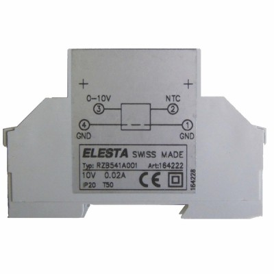 Module de conversion 0/10Vdc en 0/5Vdc NTC         - E.R.E REGULATION : RZB541A001