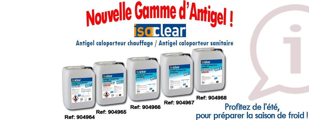 DIFF - gamme isoclear